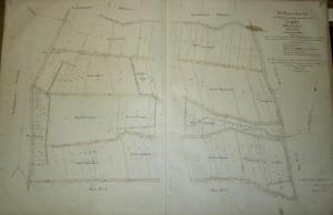 Erste Flurkarte Nr. I von Ersfeld aus dem Jahr 1892